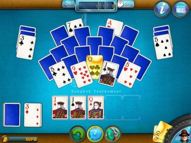 Royal Flush Solitaire (iOS & Android) - 06
