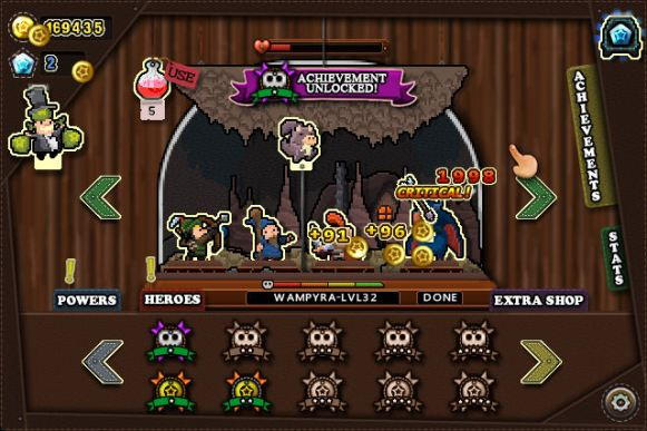 Tap Heroes (iOS & Android) - 04