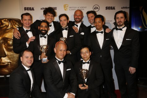 Event: British Academy Games Awards Date: Thurs 12 March 2015 Venue: Tobacco Docks, East London Host: Rufus Hound - Area: PRESS ROOM