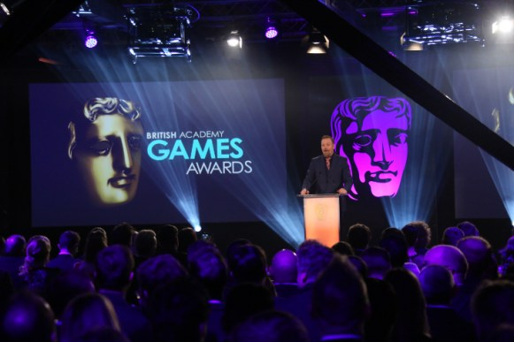 Event: British Academy Games Awards Date: Thurs 12 March 2015 Venue: Tobacco Docks, East London Host: Rufus Hound - Area: CEREMONY