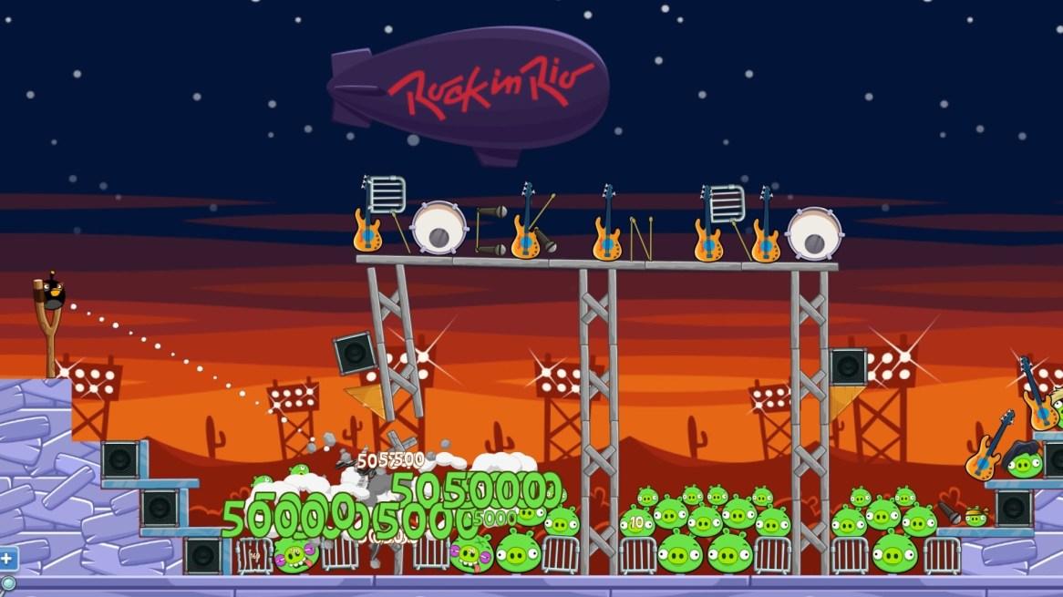Rock in Rio_Angry Birds Friends screenshot _1