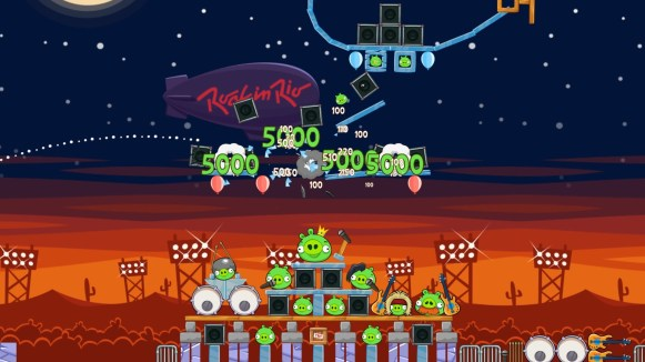 Rock in Rio_Angry Birds Friends screenshot_3