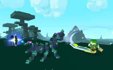 TROVE_ACT_Adventurer_BowSwordCombo_VsFaeAnt_01