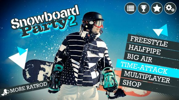 Snowboard Party 2 (Mobile) - 01