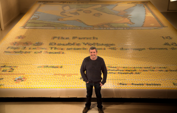 quentin_devine_the_artist_with_the_record_breaking_mosaic