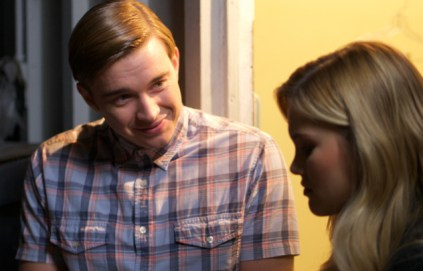 STANDOFF#23 - Chandler Massey and Olivia Holt - Chris (Chandler Massey) tries to convince Amy (Olivia Holt) to team up with him during the contest.