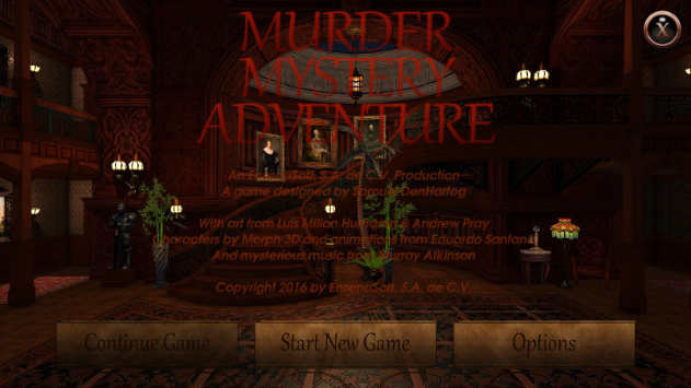 whodunnit Murder Mystery Adventure Comes to STEAM