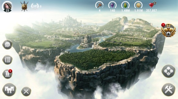Dawn of Titans_City view