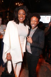 """Lorraine Toussaint and Samira Wiley seen at Netflix's original documentary """"13TH"""" reception hosted by Netflix Chief Content Officer Ted Sarandos and Ambassador Nicole Avant with a special conversation moderated by Oprah Winfrey with director Ava DuVernay and Van Jones] on Sunday, January 15, 2017, in Los Angeles, CA. (Photo by Eric Charbonneau/Invision for Netflix/AP Images)"""