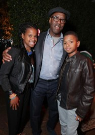 "Leslie Vance, Courtney B. Vance and Conroy Vance seen at Netflix's original documentary ""13TH"" reception hosted by Netflix Chief Content Officer Ted Sarandos and Ambassador Nicole Avant with a special conversation moderated by Oprah Winfrey with director Ava DuVernay and Van Jones] on Sunday, January 15, 2017, in Los Angeles, CA. (Photo by Eric Charbonneau/Invision for Netflix/AP Images)"