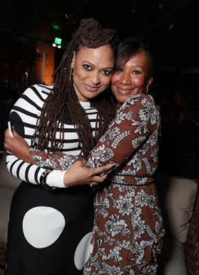 """Ava DuVernay and Ambassador Nicole Avant seen at Netflix's original documentary """"13TH"""" reception hosted by Netflix Chief Content Officer Ted Sarandos and Ambassador Nicole Avant with a special conversation moderated by Oprah Winfrey with director Ava DuVernay and Van Jones] on Sunday, January 15, 2017, in Los Angeles, CA. (Photo by Eric Charbonneau/Invision for Netflix/AP Images)"""