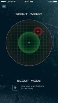 Scout Radar Display on Mobile Device (PRNewsfoto/Creative Technology Ltd)