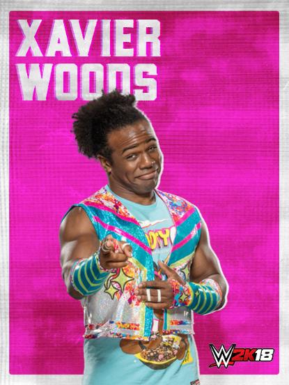 WWE2K18_ROSTER_Xavier Woods