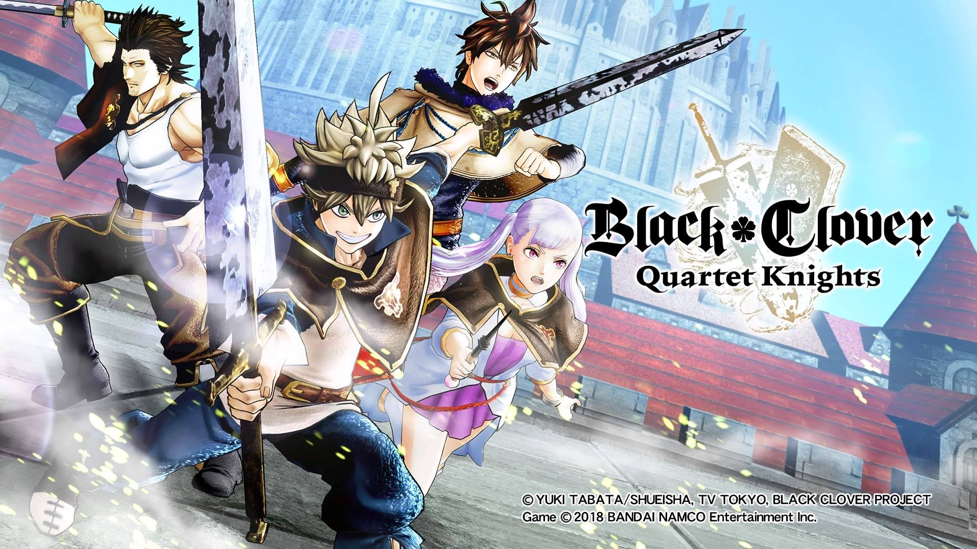 Anime Wallpaper For Ps Vita Black Clover Quartet Knights Review Invision Game Community