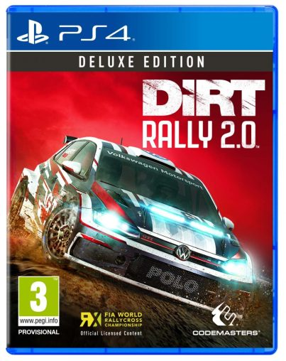DiRT Rally 2.0 DELUXE 2D Packshot PlayStation 4