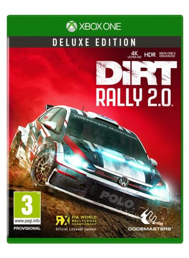 DiRT Rally 2.0 DELUXE 2D Packshot Xbox One
