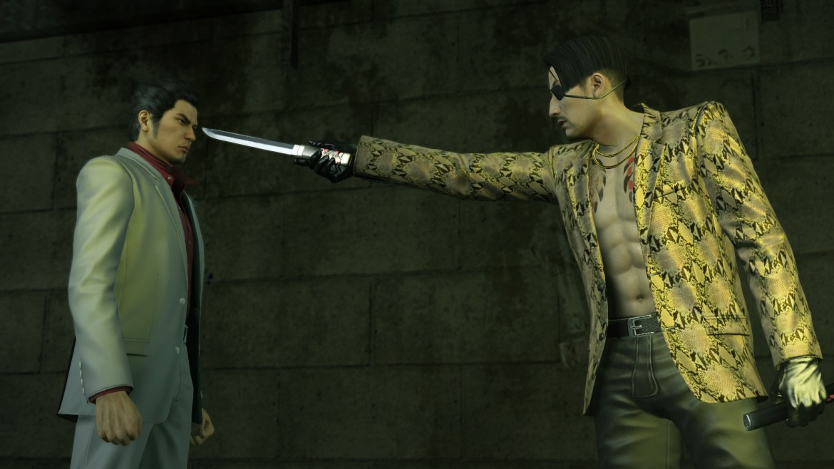 Yakuza Kiwami Pc Review Invision Game Community You'll find him standing around in the street outside the office. yakuza kiwami pc review invision game