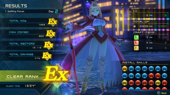 Fate EXTELLA LINK 4