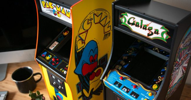 Galaga and PAC-MAN - Table 2
