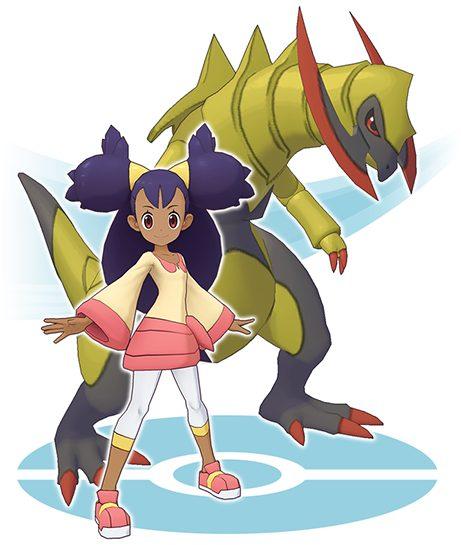 Iris & Haxorus