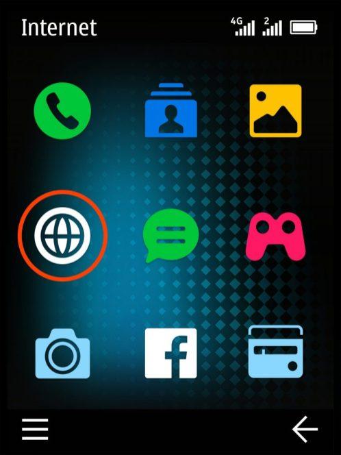 HMD Global_Nokia 220 4G_Screens_Blue_Home_DS