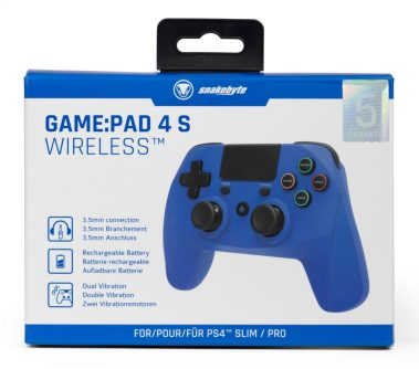 SB914539 PS4 Game Pad 4 S Wireless (blue) retail 01