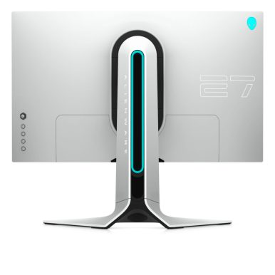 Front on view of the back of the AW2720HF gaming monitor.