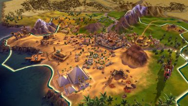 Civilization VI Console - Egypt Sunset