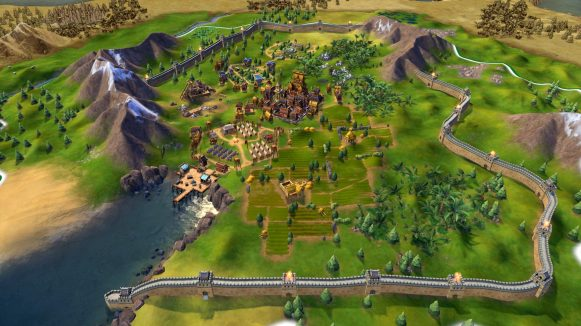 Civilization VI Console - Great Wall
