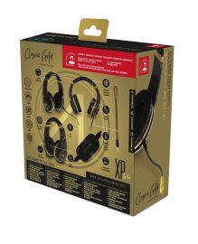 XP-CGA-BLK Multiformat Gaming Headset PKG Back