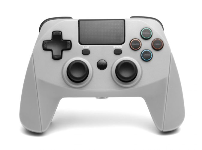 snakebyte PS4 GamePad 4 S wireless (grey) b