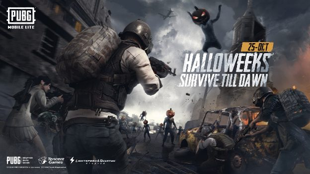 Halloween-themed PUBG MOBILE LITE