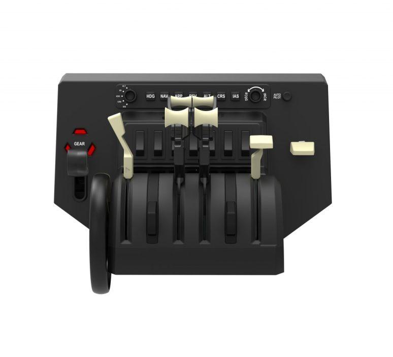Alpha Switch Controls Yoke & Switch Panel