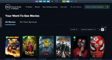 Dell Cinema Guide_UI 2
