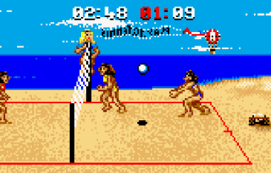 malibu bikini volleyball atari lynx