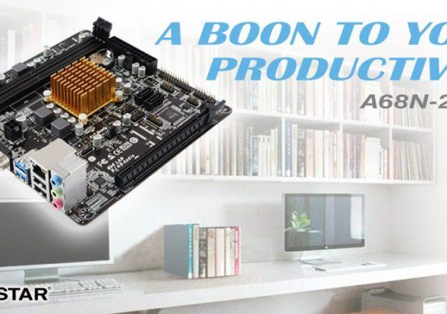 BIOSTAR A68N-2100K SoC Motherboard
