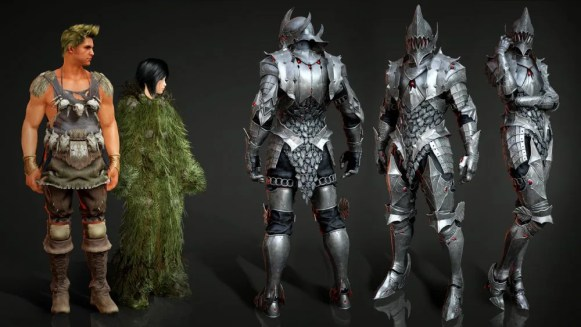 Blackstar Armor Comparison