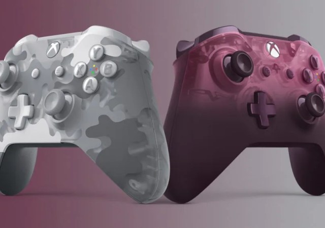 xbox one wireless controllers Phantom Magenta & Arctic Camo