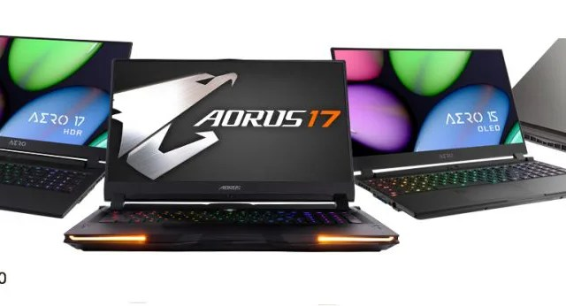 GIGABYTE Laptops