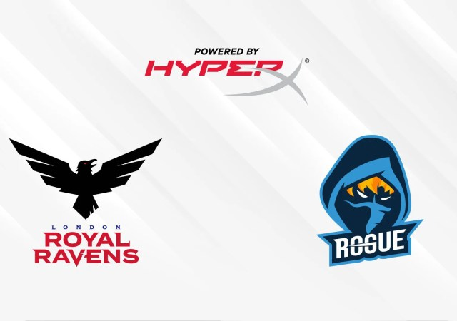 HyperX, Rogue , London Royal Ravens