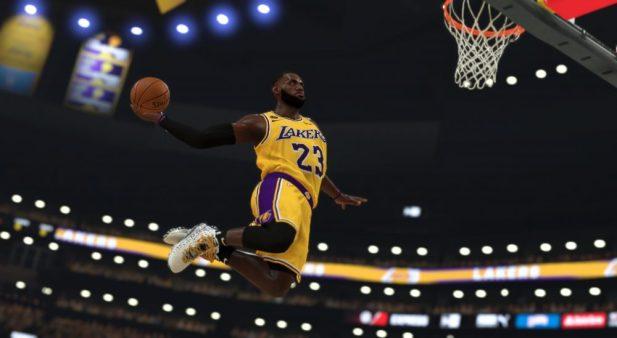 NBA2K MyPlayer Nation GE - LeBron 17 'Bron 2K Playoffs' - NBA2K20 Dunk