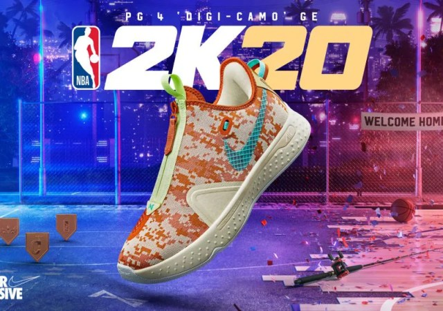 NBA2K MyPlayer Nation GE - PG 4 'Digi-Camo'