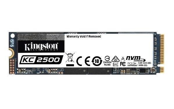 KC2500 NVMe PCIe SSD