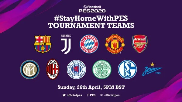 #StayHomeWithPES TOURNAMENT