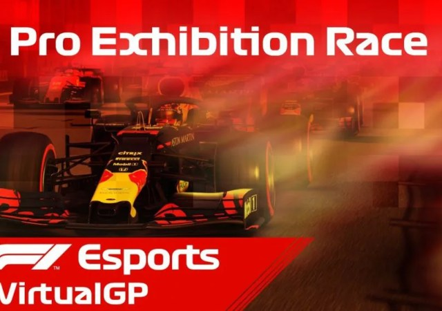 F1 ESPORTS PRO EXHIBITION RACE