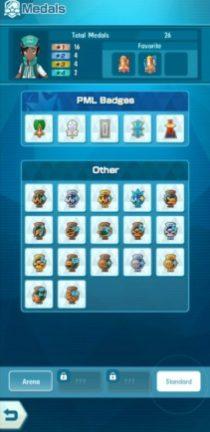 Legendary Arena - Medal Display 2