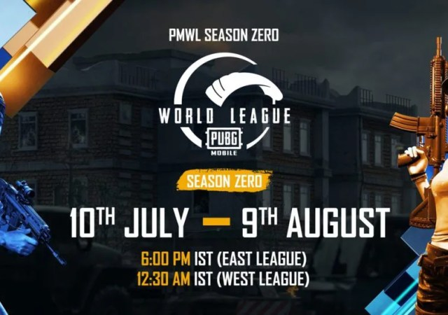 PUBG MOBILE, World League Season Zero