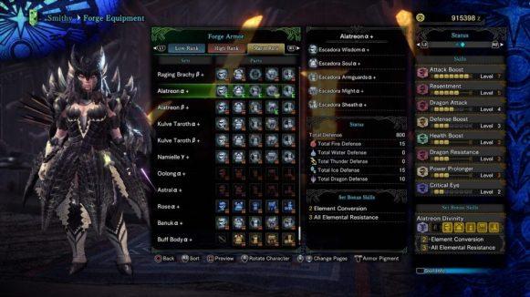 GUIDE for Monster Hunter World's Alatreon 7
