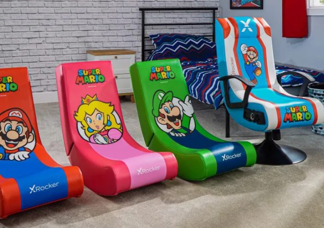 XRocker Nintendo Themed Chairs