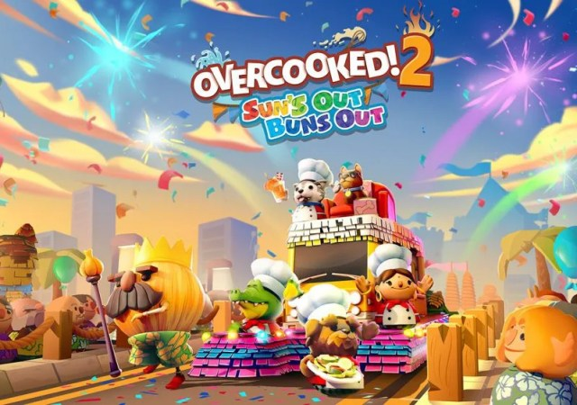 Overcooked! 2 Sun's Out Buns Out DLC